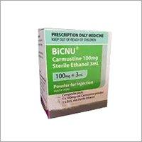 BICNU 100MG 30ML INJECTION