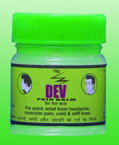 Dev Pain Balm Green