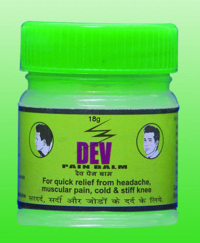 Dev Pain Green Balm