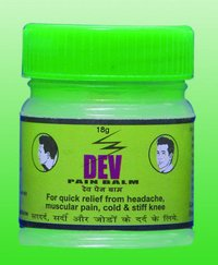 Dev Pain Balm Green