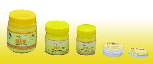 Dev Plus Pain Balm Yellow