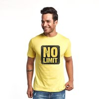 I said....no limit Men's Fashionable T-Shirt