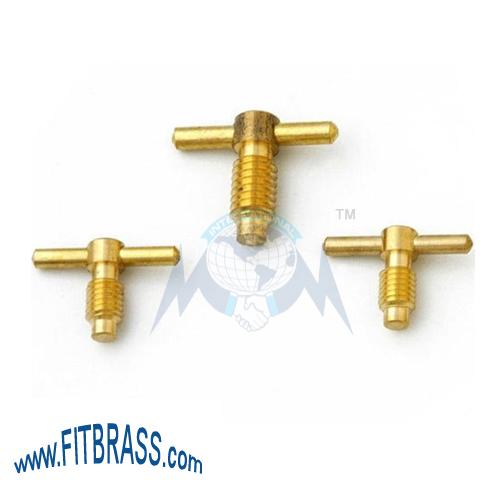 Brass Regulator Key