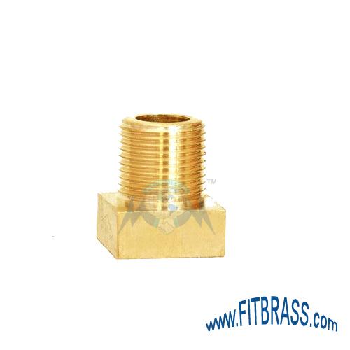 Brass Square Cylinder Nut