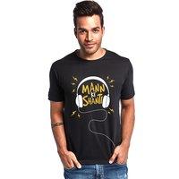 Mann Ki Shanti Men's Fashionable T-Shirt