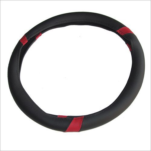 Silver Color Car steering cover