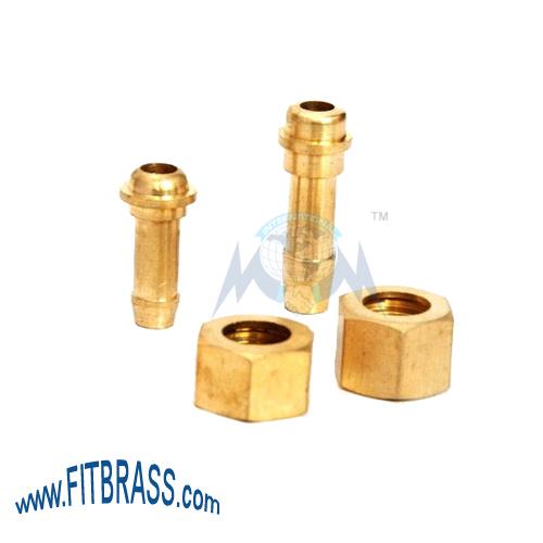 LPG Hose Nut Nipple Set