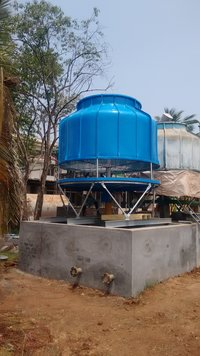 FRP Bottle Shape Cooling Towers