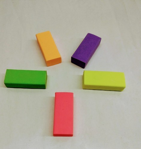 Neon Coloured Dust Free Eraser