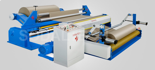 Heavy Duty Paper Slitter Rewinding Machine