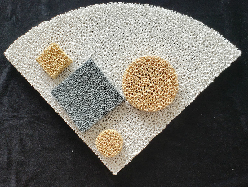 Customized Different Materials Ceramic Foam Filter