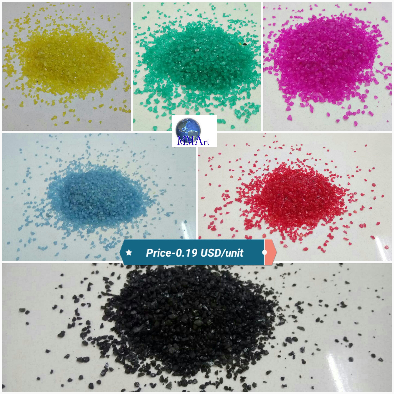 Royal Blue Decorative Art Color Sand
