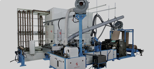Paper Cone Machine Certifications: Iso 9001:2015 Certified Company
