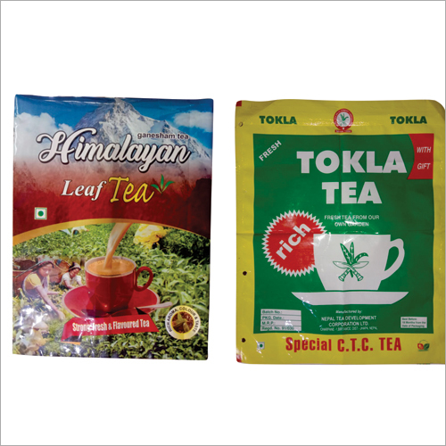 Tea Pouch Printing Service