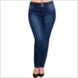 3 Button Ladies Jeans