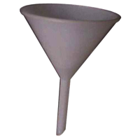 Plastic Long Stem Funnel