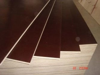 Coated Film Faced Plywood Core Material: Harwood