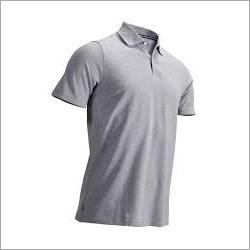 Mens Plain Collar T Shirt