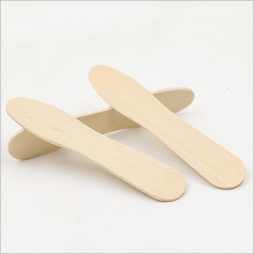 Disposable Wooden Ice Cream Spoon