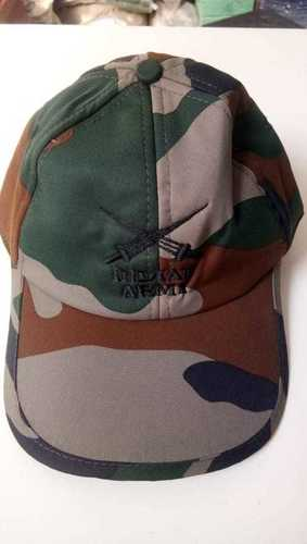 Army Cap With Logo