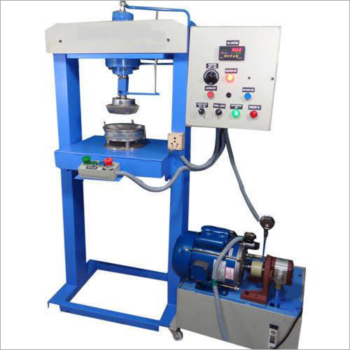 Single Die Hydraullic Paper Plate Making Machine