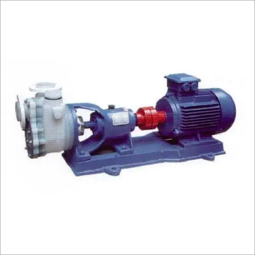 Fluoroplastics Self Priming Pump