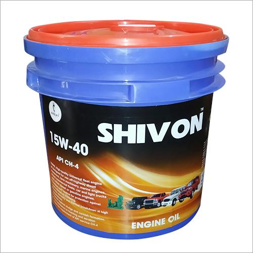 15W 40 Engine Oil for Diesel/Petrol Car