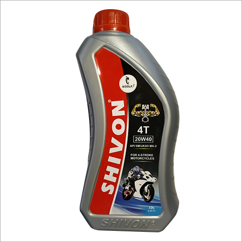1 Ltr 4T Motorcycle Engine Oil