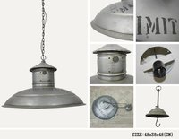 IRON HANGING LAMP