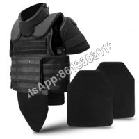 NIJ IIIA III IV Bulletproof Vest With Ceramic Ballistic Armor Plate