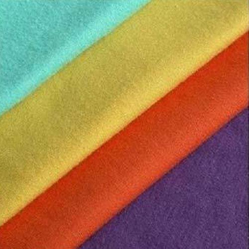 Spun Fleece Plain Fabric