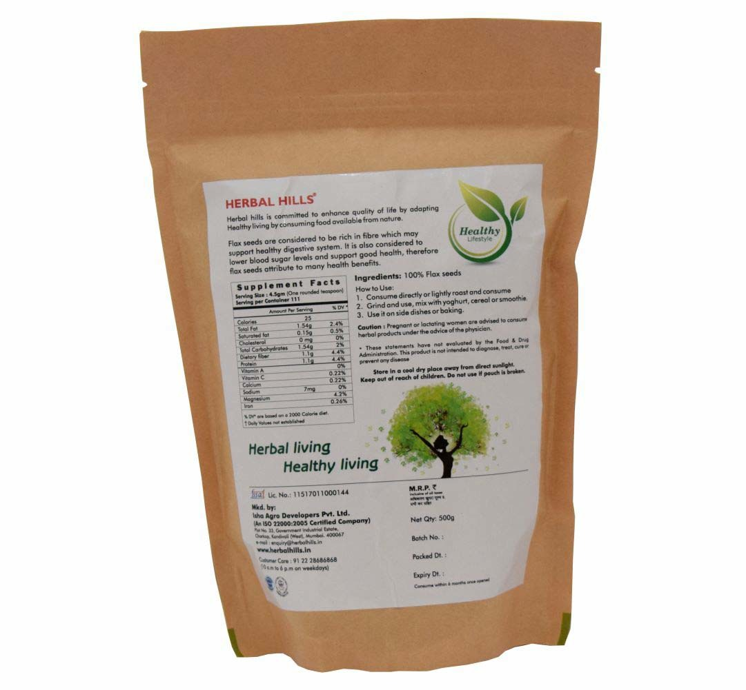 Flax seeds - Ayurvedic Weight Management Product