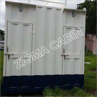 White Portable Toilet