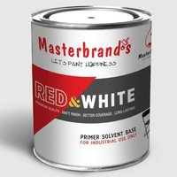 Red And White White Primer Oil Base