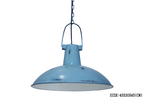 IRON BLUE LAMP