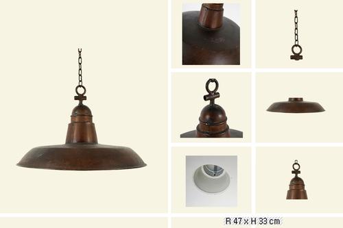 IRON CHAIN LAMP