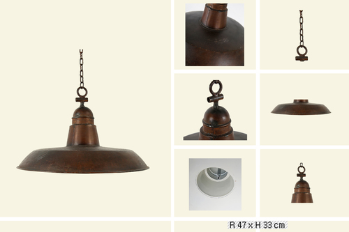 IRON CHAIN LAMP