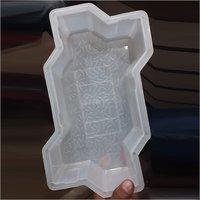Silicone Plastic Zigzag Paver Mould