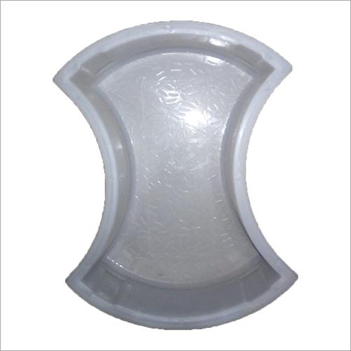 Silicone Damru Plastic Paver Mould