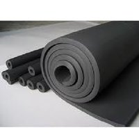 black rubber foam sheet