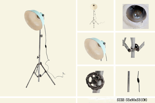 IRON TRIPOD LAMP