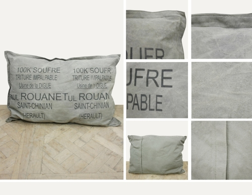 TYPOGRAPHY CUSHION