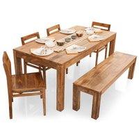 Contemporary Wooden Dinning Set