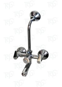 BRASS WALL MIXER 2 IN 1