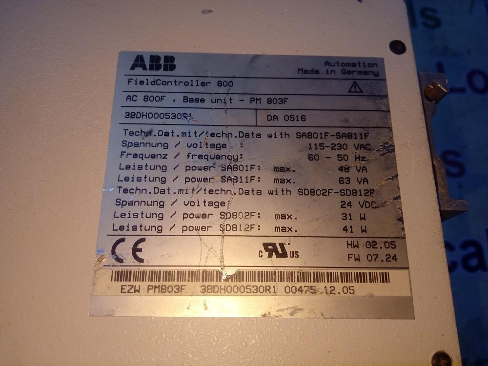 ABB CPU AC 800F - ABB CPU AC 800F Exporter, Service Provider