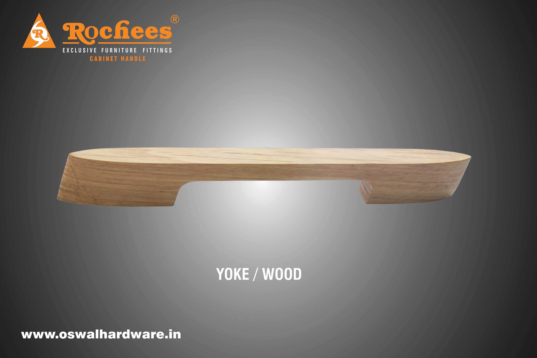 Talon Wood Cabinet Handle