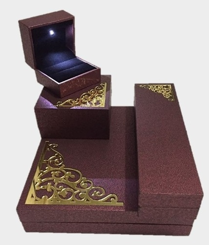 Royal Brown Laser Cut Jewellery Box Series