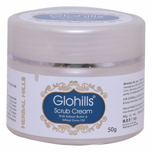 Herbal Face Scrub - Glohills Scrub Cream