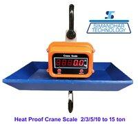 Heat Proof Crane Scale 5 Ton