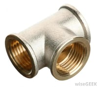 Female - T Sanitary Fittings